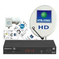 Установка НТВ + SAGEMCOM DS 174